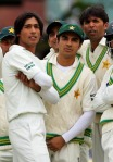 From left: Mohammad Amir, Salman Butt, and Mohammad Asif