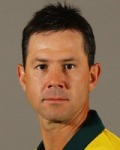 Ricky Ponting: Getting on, but also getting out.