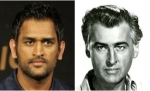 M. S. Dhoni and Stewart Granger