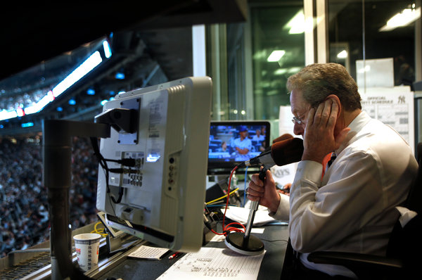 Broadcasting the New York Yankees for 25 years: John Sterling