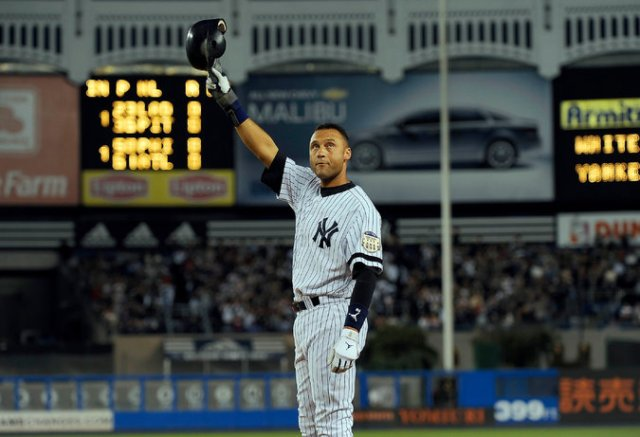 Derek Jeter at the height of his powers (Photo by Barton Silverman/New York Times)