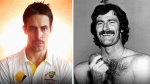 Mitchell Johnson and Dennis Lillee
