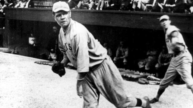Sure, you recognize this southpaw—here ca. 1919. He debuted for Boston five years earlier 100 years ago this past Friday.