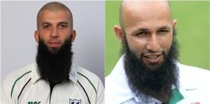 Mooen Ali (left) and Hashim Amla. Bearded wonders.